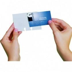 Schedario Rotativo Per Biglietti Da Visita.Buste Di Ricambio Per Schedario Alfabetico Da Tavolo Visifix Durable 2418 19 Conf 40